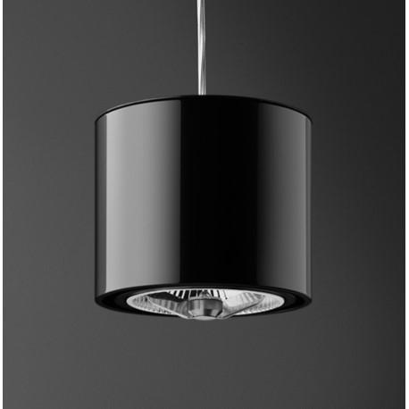 Wisząca czarna lampa firmy aquaform