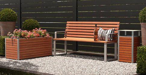 lawka ogrodowa nowoczesna